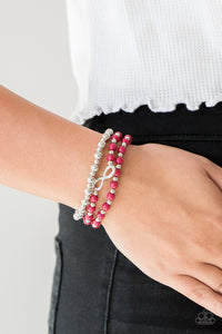 Immeasurably Infinite - pink - Paparazzi bracelet