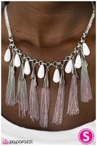 In-FRINGE-ment - Paparazzi necklace