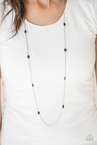 In Season - black - Paparazzi necklace