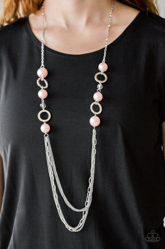 Its About Showtime - pink - Paparazzi necklace