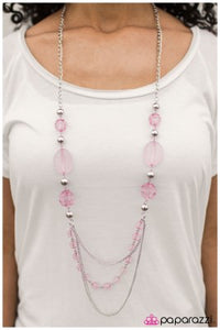 Keep Dreamin - Pink - Paparazzi necklace