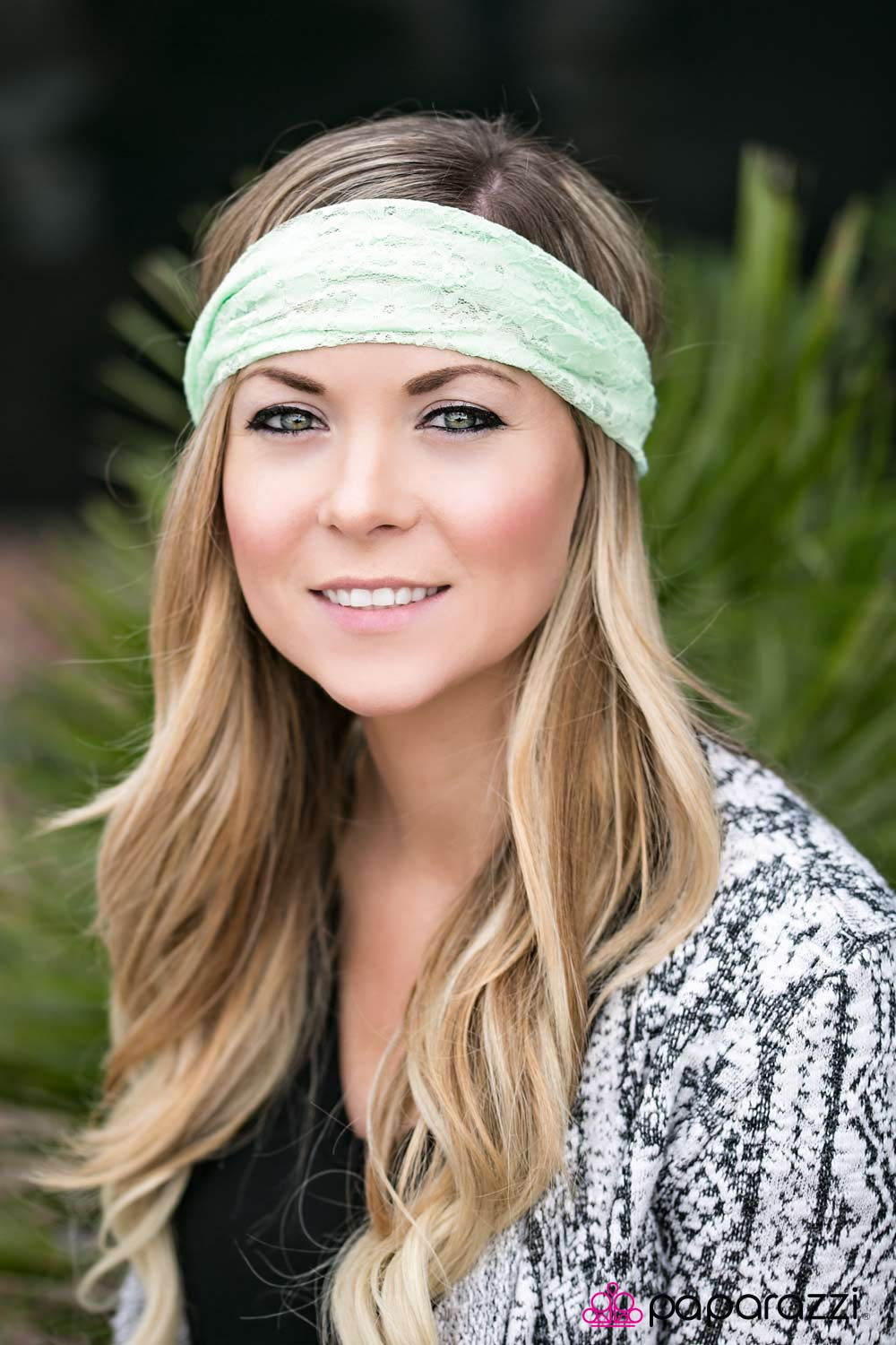 LACE To LACE - Green - Paparazzi headband
