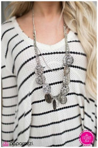 Lady Liberty - Silver - Paparazzi necklace