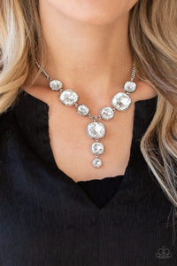 Legendary Luster - White - Paparazzi necklace