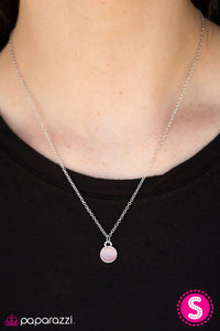 Let There Be MOONLIGHT - Pink - Paparazzi necklace