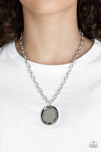 Light as HEIR-silver-Paparazzi necklace