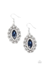 Load image into Gallery viewer, Long May She Reign - blue - Paparazzi earrings