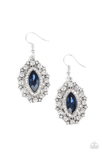 Long May She Reign - blue - Paparazzi earrings