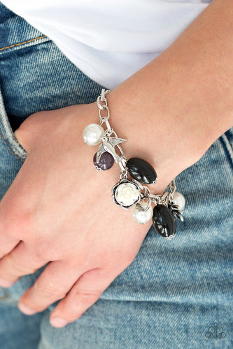 Love Doves - black - Paparazzi bracelet