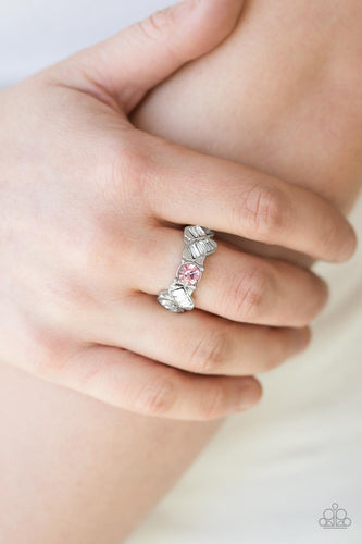 Luxury Loot - pink - Paparazzi ring