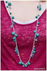 Madame Bovary - blue - Paparazzi necklace