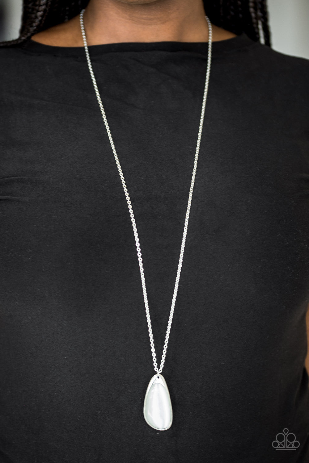 Magically Modern - white - Paparazzi necklace