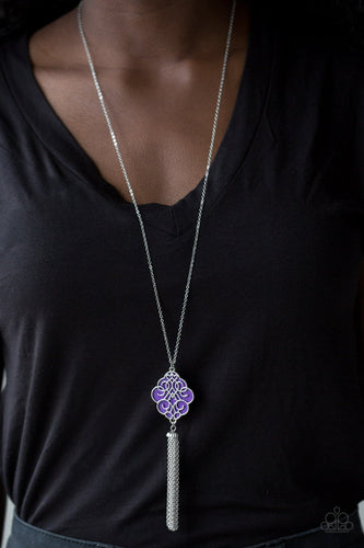 Malibu Mandala - purple - Paparazzi necklace