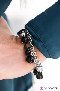 Match Made In Heaven - Black - Paparazzi bracelet