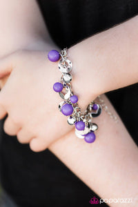 Match Made In Heaven - Purple - Paparazzi bracelet