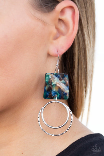 Maven Maker-multi-Paparazzi earrings