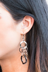 Mean Machine - multi - Paparazzi earrings