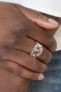Mod Modest - brown - Paparazzi ring