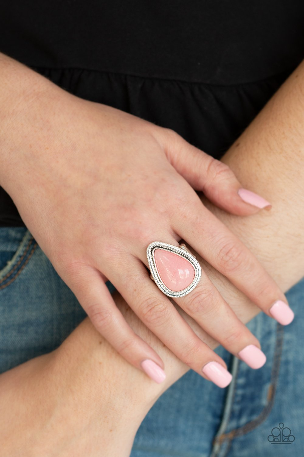 Mojave Mist-pink-Paparazzi ring