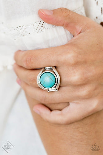 Mojave Native-blue-Paparazzi ring