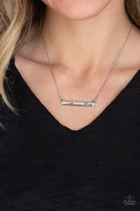 Moms Do It Better-pink-Paparazzi necklace
