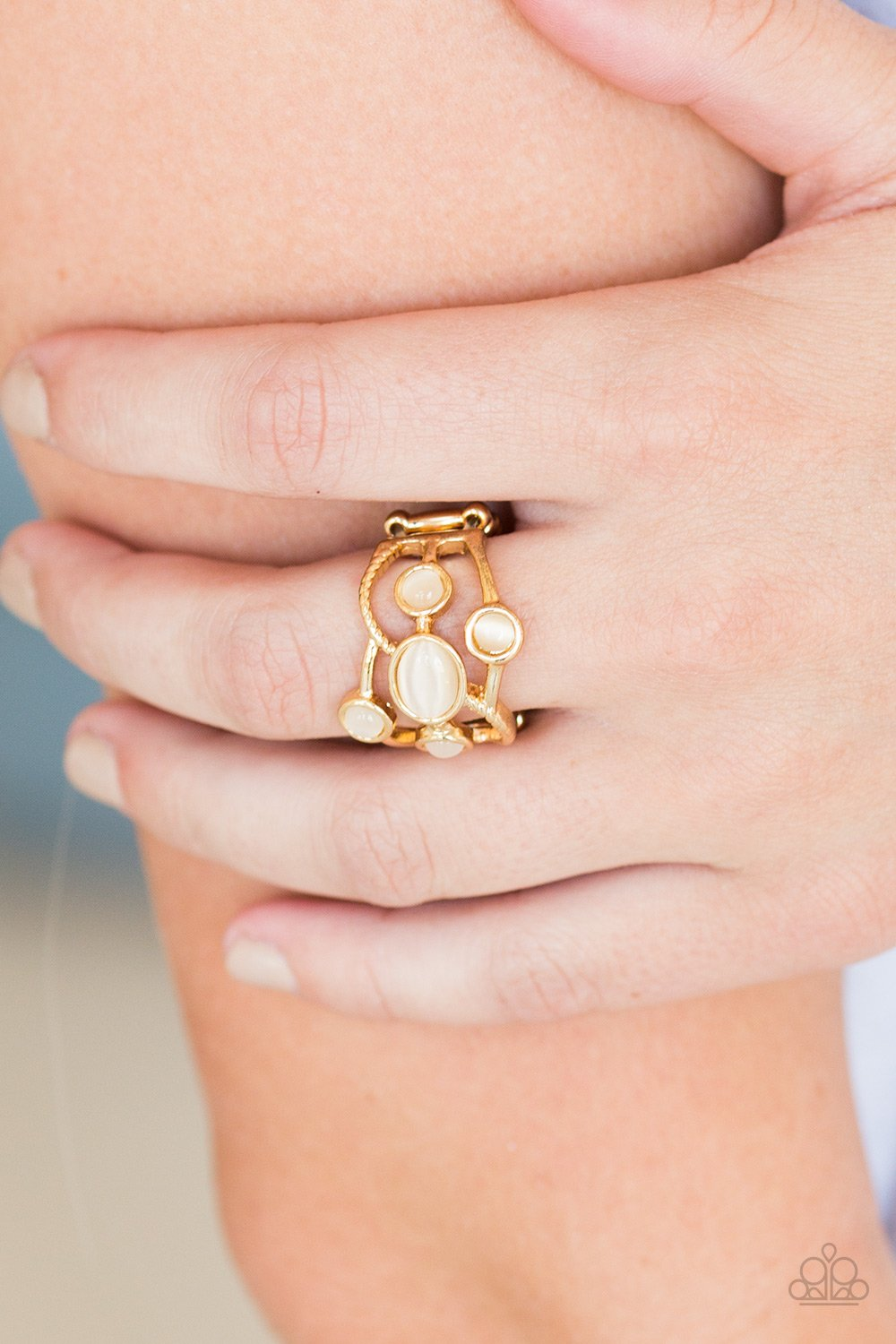 Moon Mood - gold - Paparazzi ring