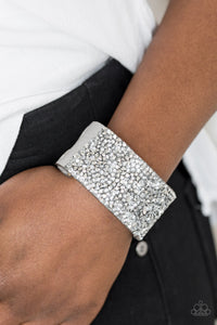 More Bang For Your Buck - silver - Paparazzi bracelet