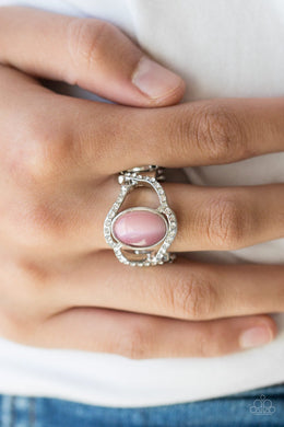 Moulin Moon-pink-Paparazzi ring