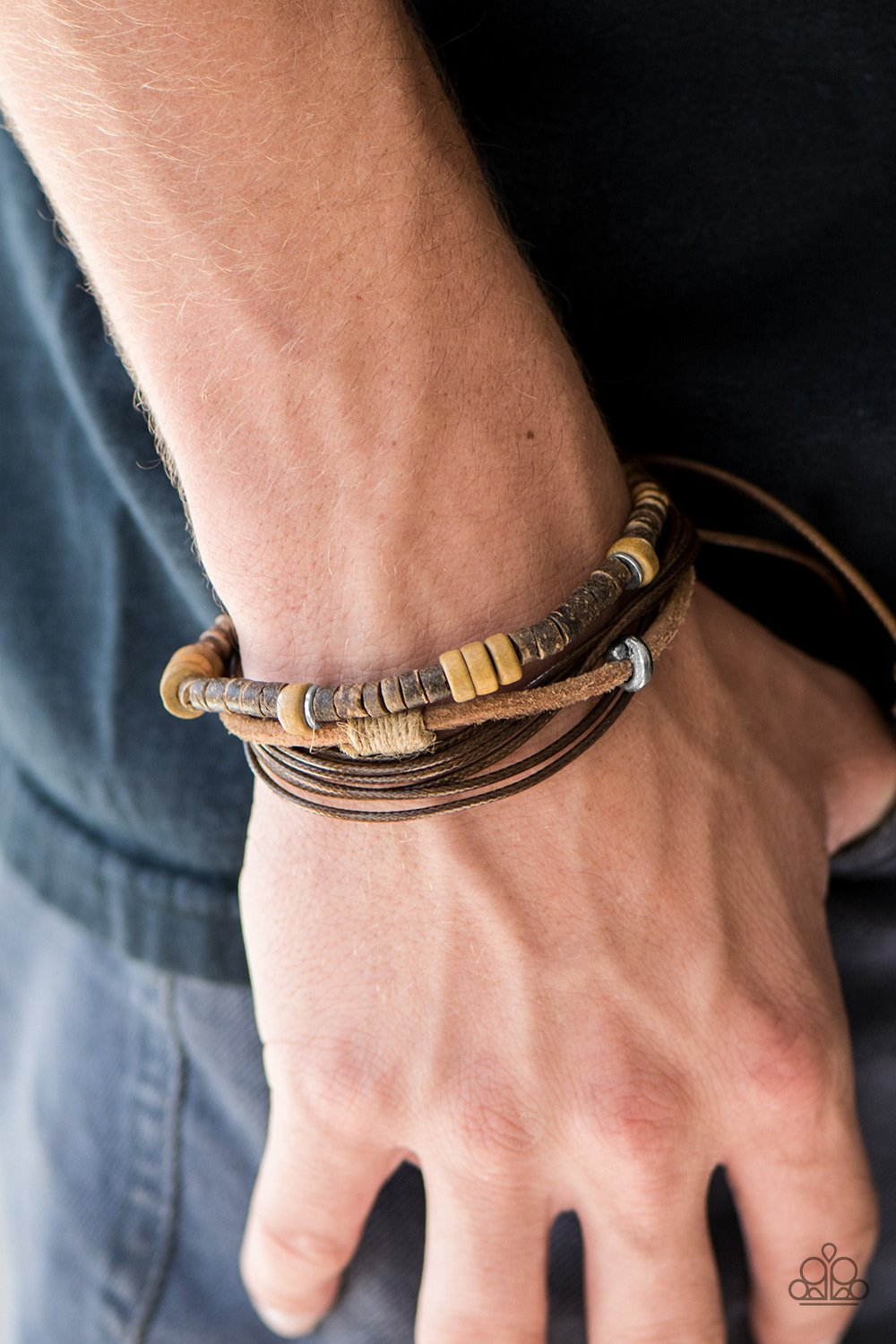 Mountain Woods - brown - Paparazzi bracelet