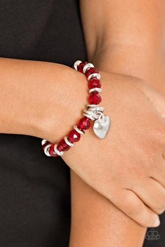 Need I Say Amour - red - Paparazzi bracelet