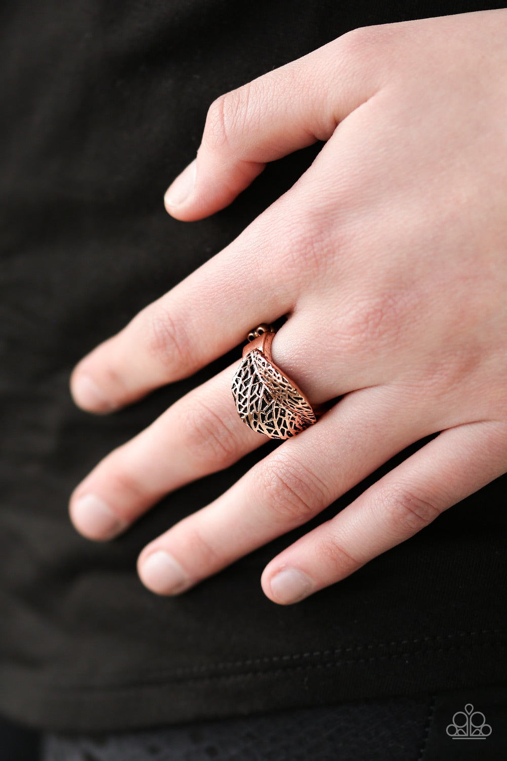 Never LEAF me - copper - Paparazzi ring