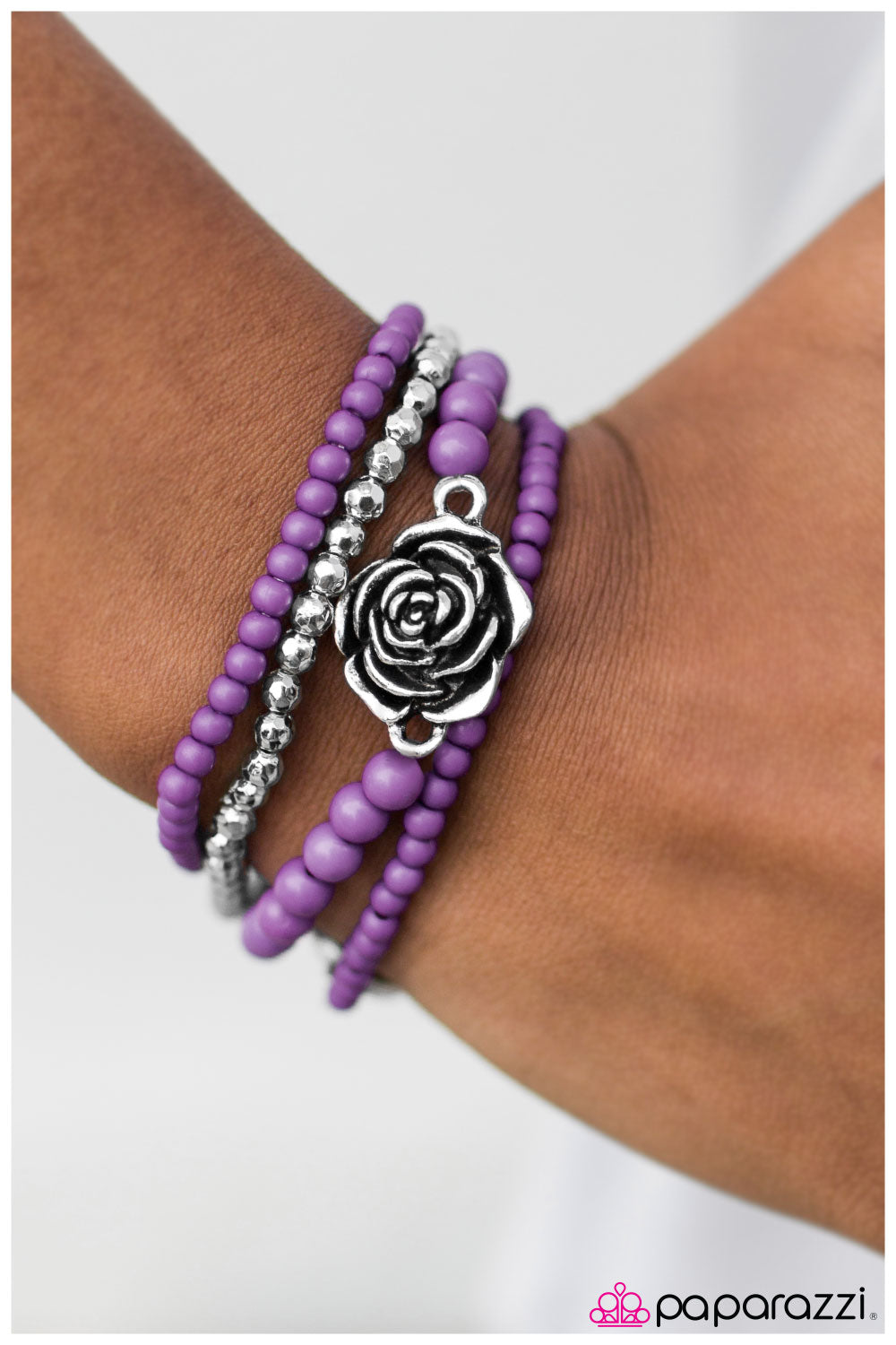 New Beginnings - purple - Paparazzi bracelet