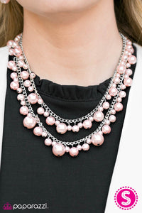 Nightfall - Pink - Paparazzi necklace