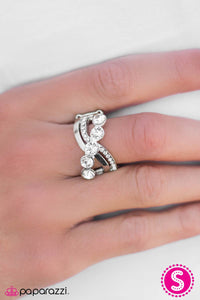 Nighttime Radiance - White - Paparazzi ring