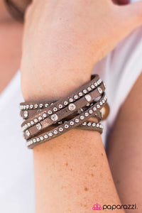 No Boys Allowed - Brown - Paparazzi bracelet