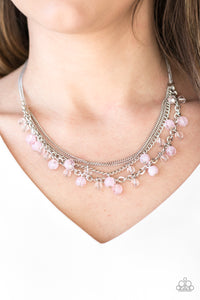Ocean Odyssey - pink - Paparazzi necklace