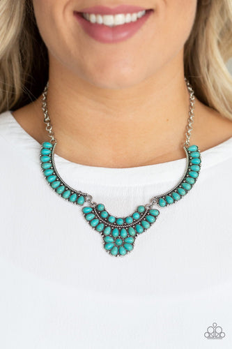 Omega Oasis-blue-Paparazzi necklace