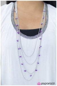 On Route 66 - purple - Paparazzi necklace