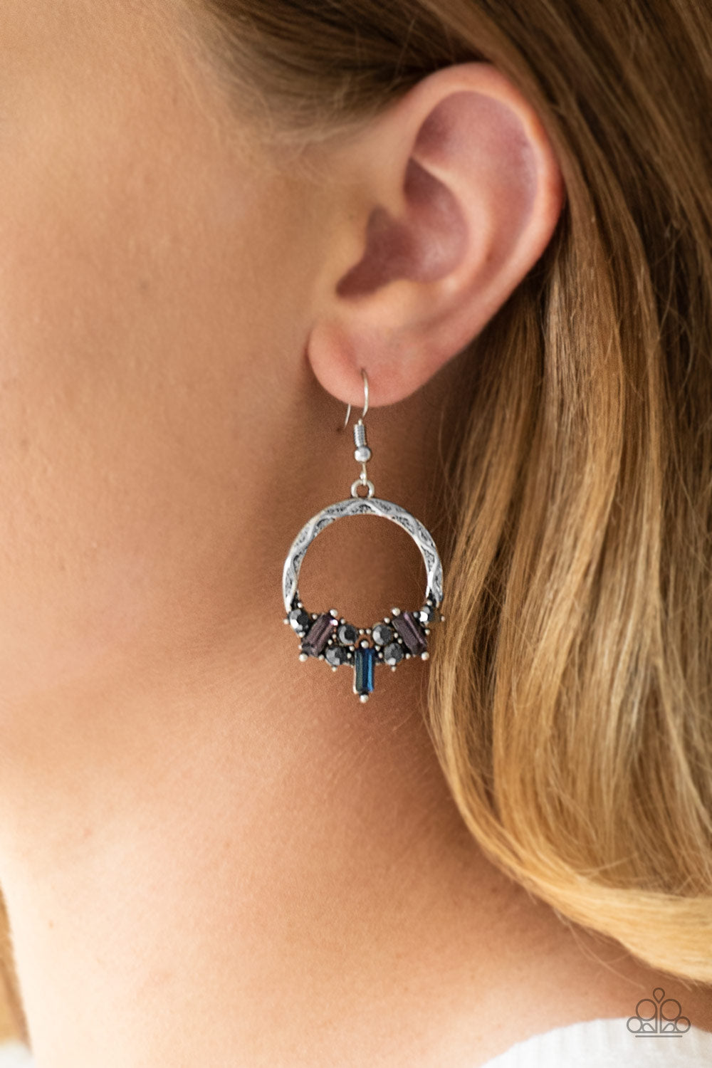 On the Uptrend - multi - Paparazzi earrings