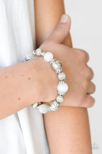 Once Upon a Maritime - white - Paparazzi bracelet