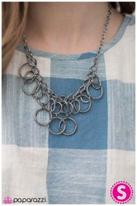 One RING After Another - Paparazzi necklace