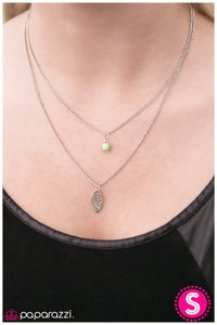One Tree Hill - Green - Paparazzi necklace
