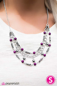 Only the Finest - Purple - Paparazzi necklace