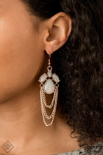 Opalescence Essence-copper-Paparazzi earrings