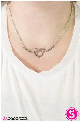 Open your Heart - Paparazzi necklace