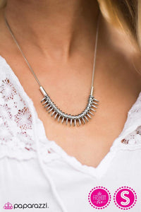 Pacific Plate - Paparazzi necklace