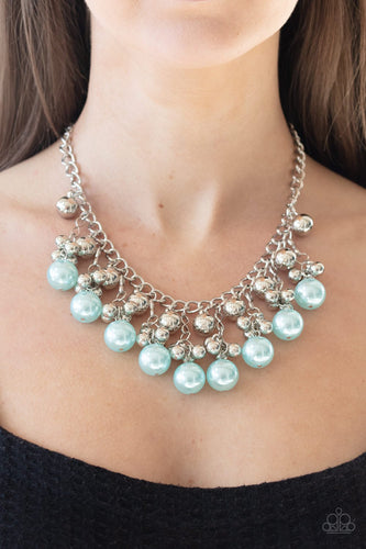 Pearl Appraisal-blue-Paparazzi necklace