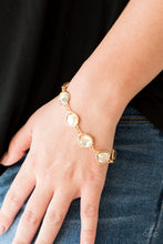 Load image into Gallery viewer, Perfect Imperfection-gold-Paparazzi bracelet