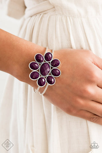 Petal Persuasion-purple-Paparazzi bracelet