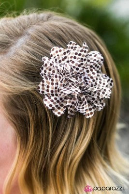 Polka Party - Paparazzi Hair Clip